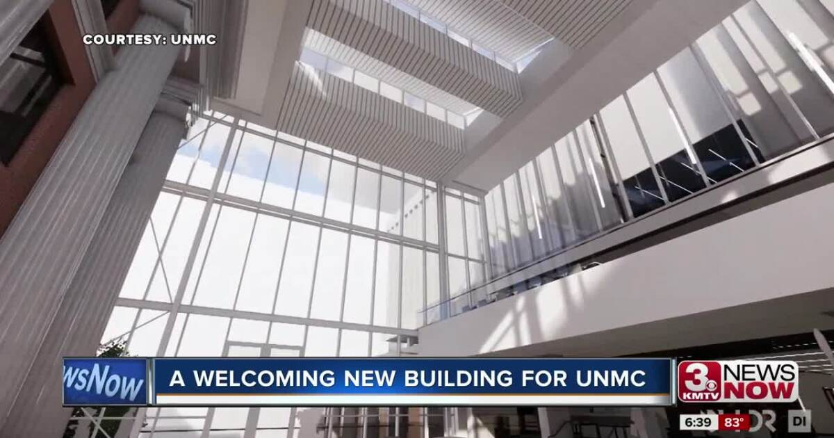 A welcoming new building for UNMC
