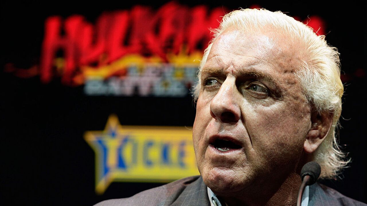Wrestler Ric Flair rushed to hospital, TMZ reports