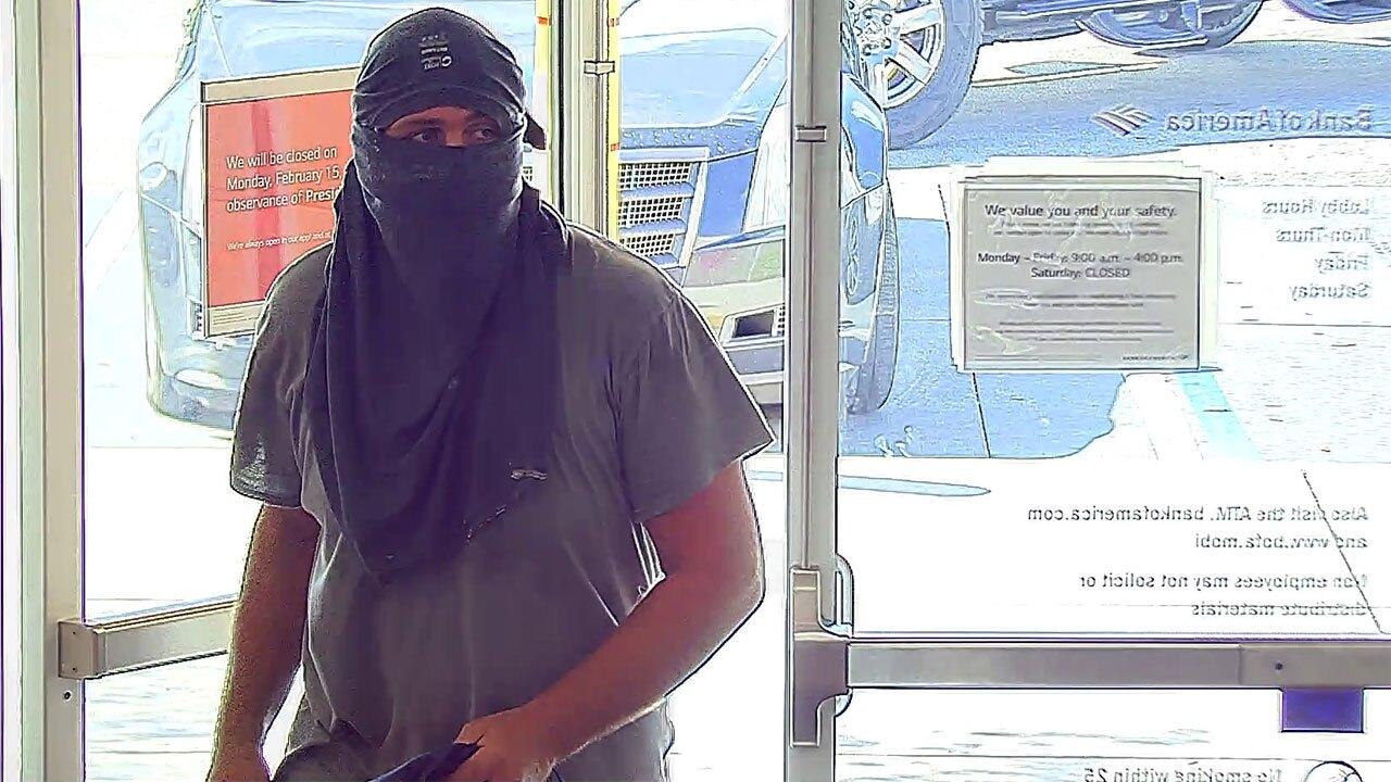 Port St. Lucie bank robber
