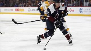 Donskoi scores 3 goals as Avalanche beat Predators 9-4