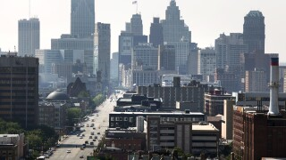 Detroit skyline_downtown detroit