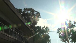 san diego school sun heat