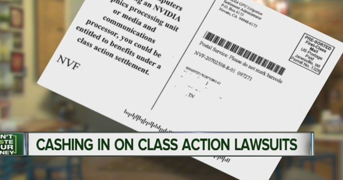 Are you eligible for any of these class action lawsuits?