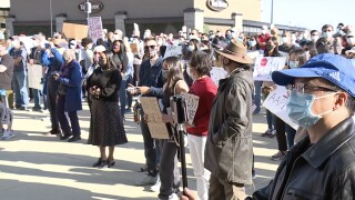 Stop hate against asians rally downtown