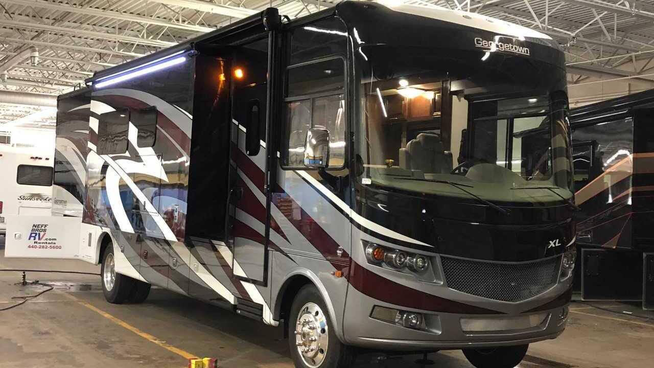 RV Baker Mayfield used during training camp is for sale