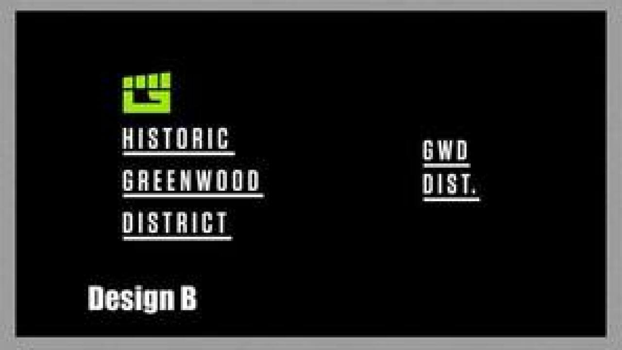 Historic Greenwood District asks for help in choosing new logo