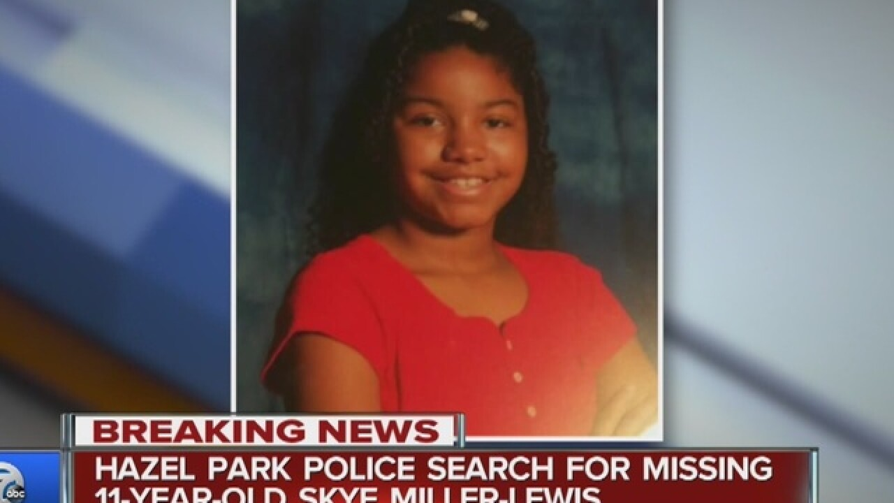 Hazel Park Police searching for 11-year-old girl