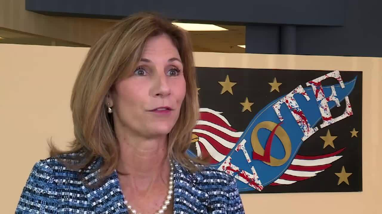 Wendy Sartory Link says she wants to protect 'one person, one vote'