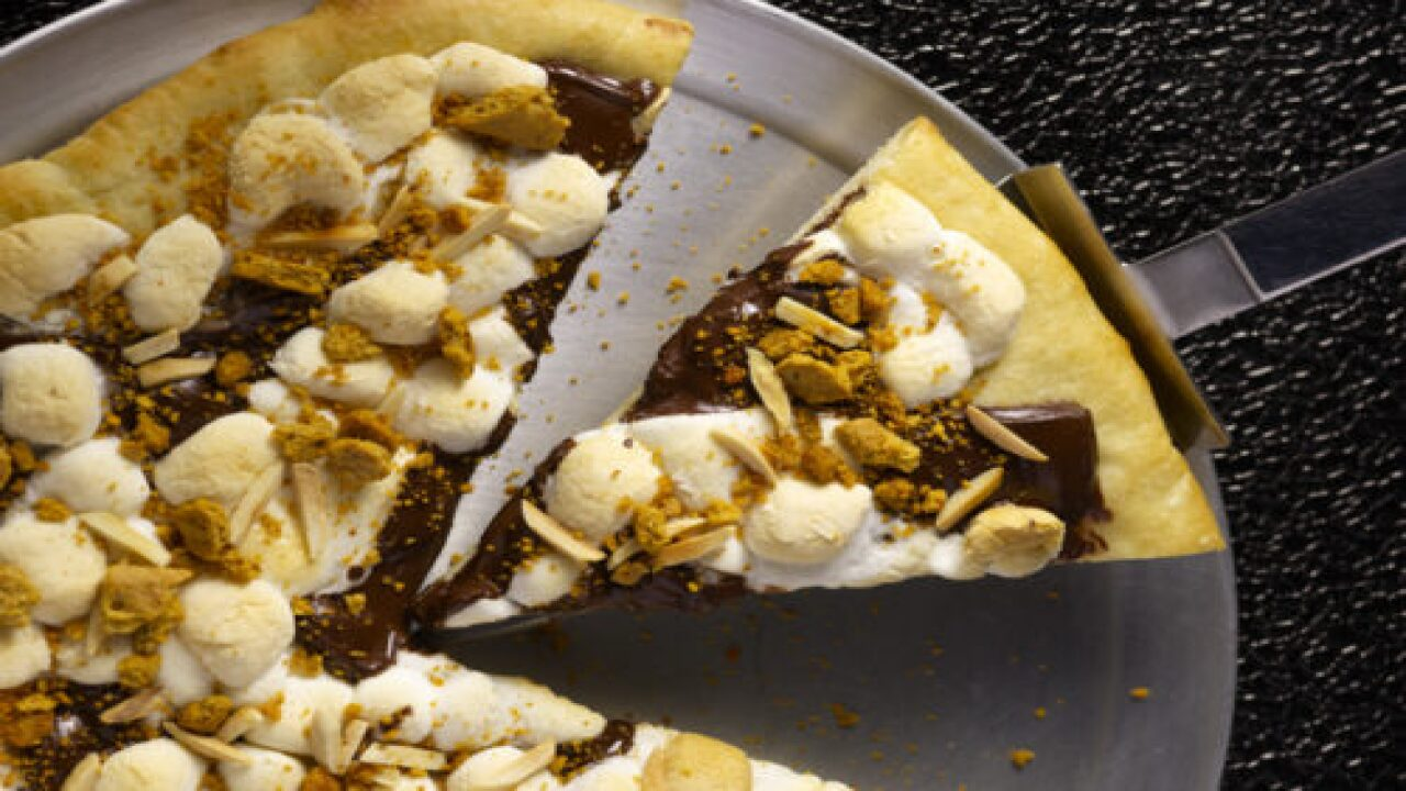Guy Fieri's S'more Pizza Is A Dessert With A Kick You Didn't See Coming