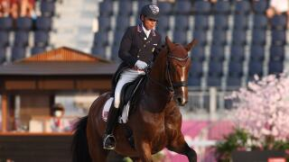 'Rave horse' Mopsie rages in Olympic dressage freestyle