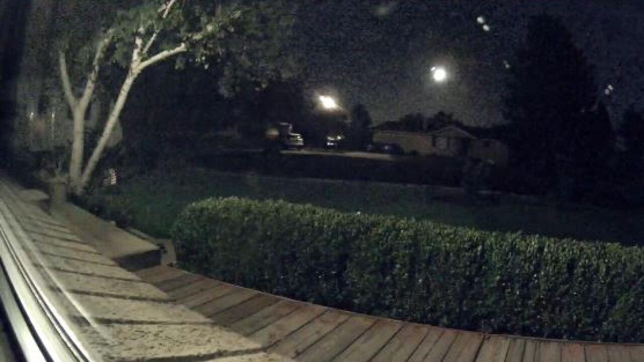 Video: Meteor lights up Utahsky
