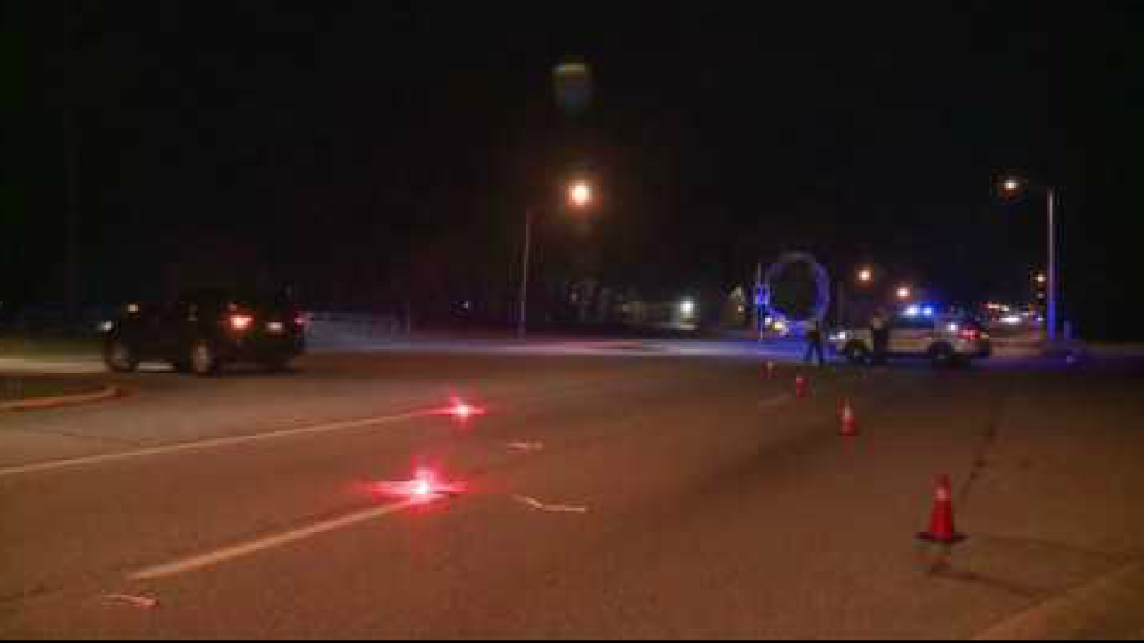 Man sent to hospital after being struck by vehicle in NewportNews