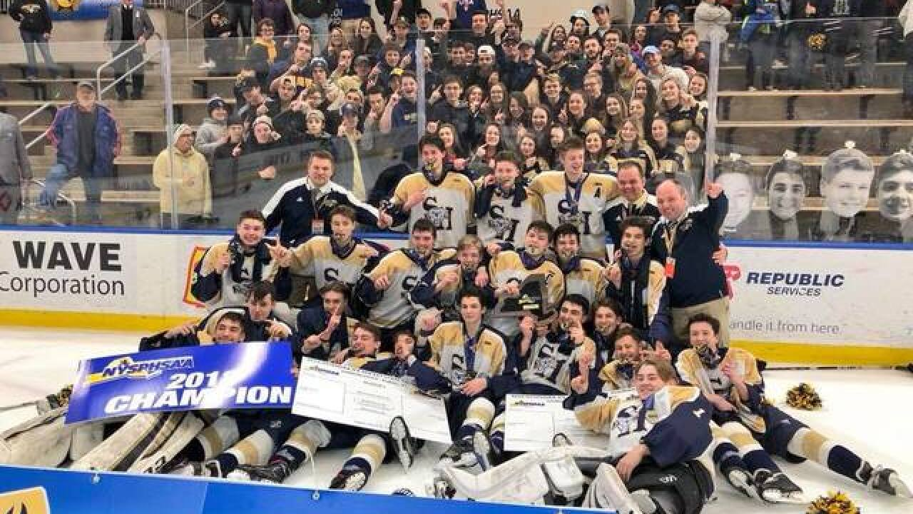 Sweet Home hockey wins NYS title for first time