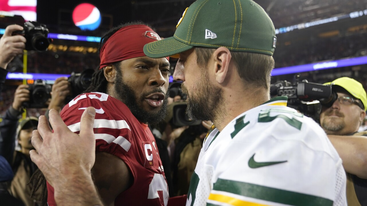 Aaron Rodgers-Richard Sherman matchup highlights NFC title game
