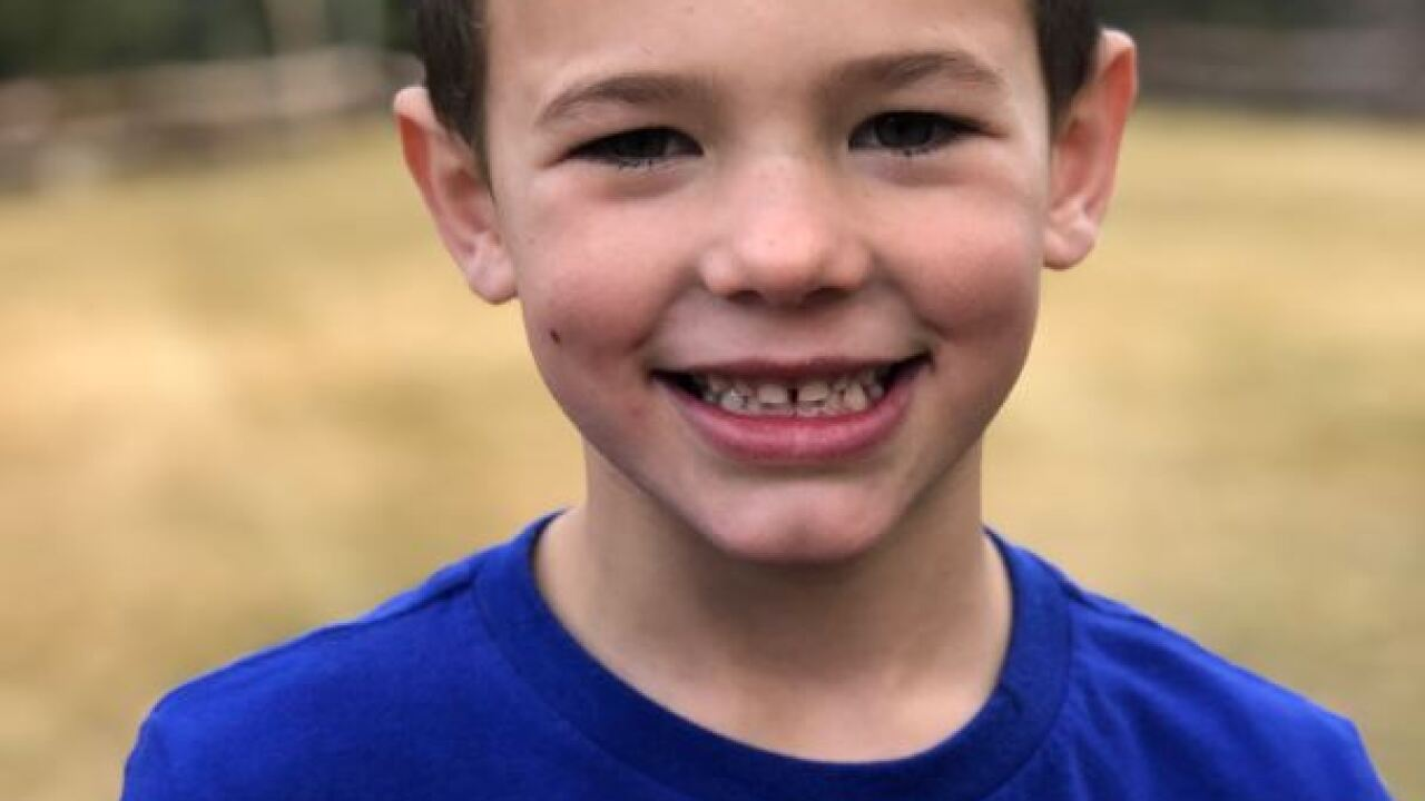 Authorities identify 6-year-old boy who died in snow removal accident