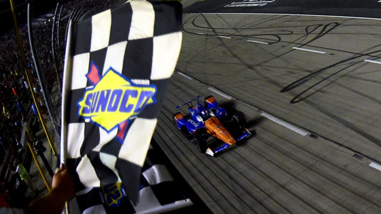 Scott Dixon wins 2nd IndyCar race in eight days at Texas