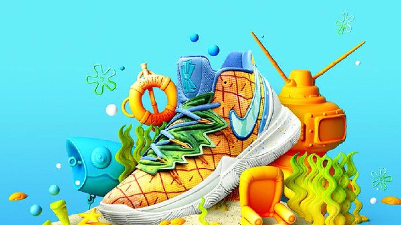 SpongeBob sneakers final release