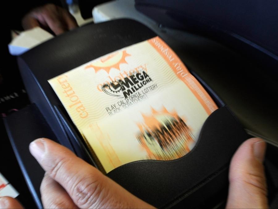 San Diego Woman Claims Half Billion Dollar Mega Millions Ticket