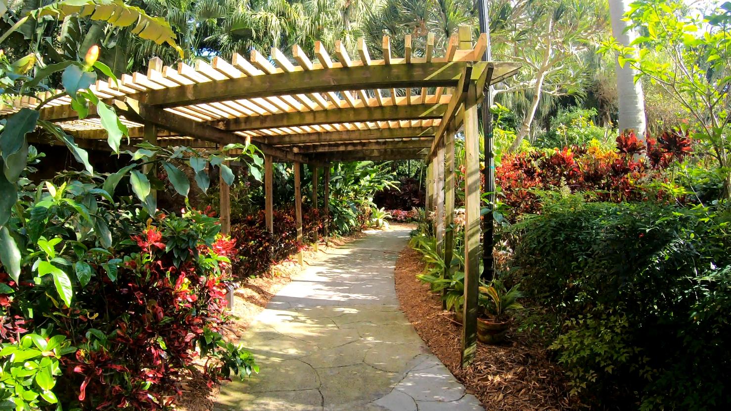 Sunken Gardens is a botanical paradise in St. Petersburg