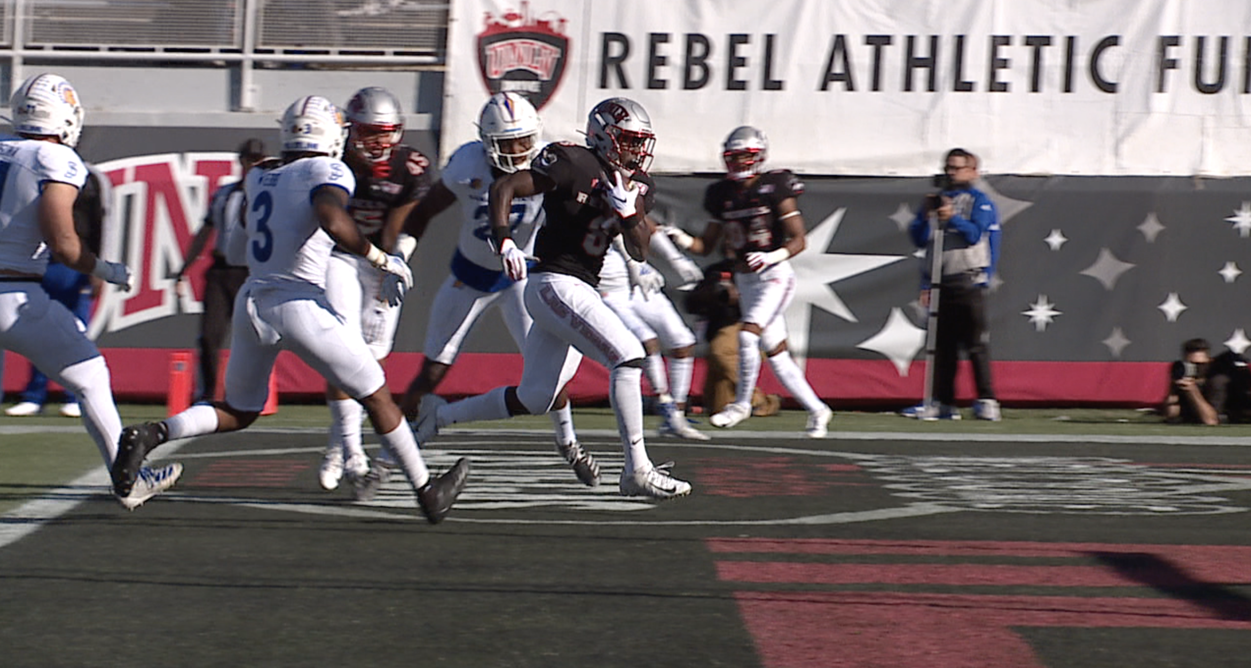 Unlv Nevada Football Players Suspended For Fight After November Rivalry Game