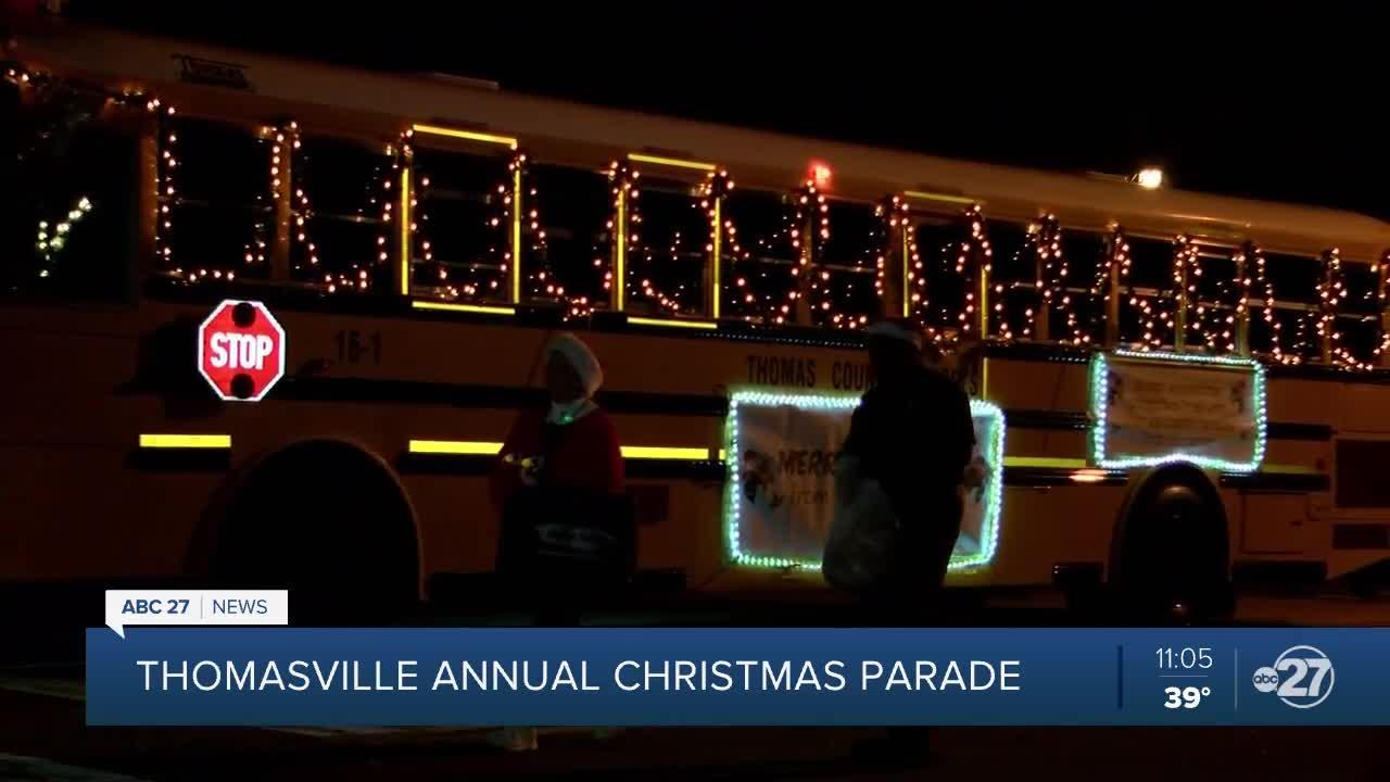 2020 Thomasvulle Georgia Christmas Parade Thomasville holds annual Downtown Christmas Parade